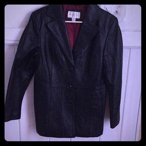 Worthington jacket Medium Size leather like new